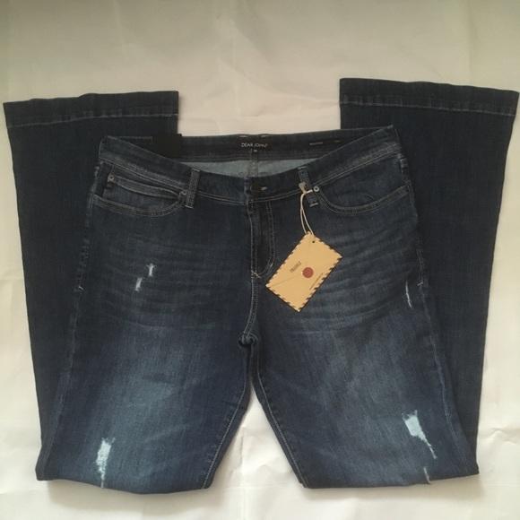 Dear John Backstage Flare Jeans NWT size 31.